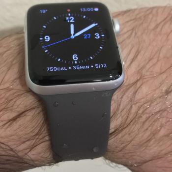 Erfahrungsbericht zur Apple Watch Series 2: Schwimmen im Becken.