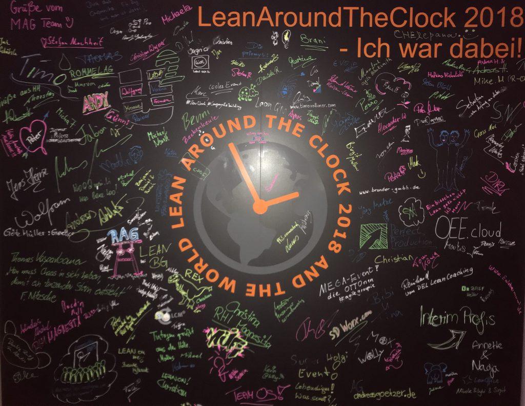 Ich war dabei! | LeanAroundTheClock #LATC2018