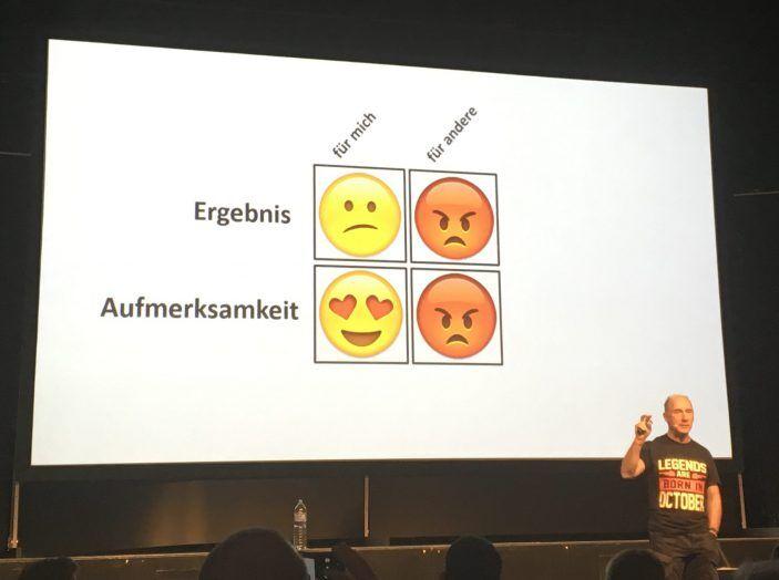 LeanAroundTheClock - Ralf Westphal mit seinem Vortrag »Hört auf zu lügen!«.
